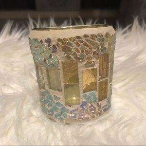 Mini Iridescent Candle Holder